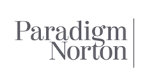 Paradigm Norton financial logo design