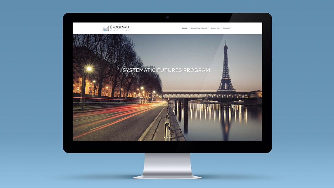 Brookvale capital financial website design