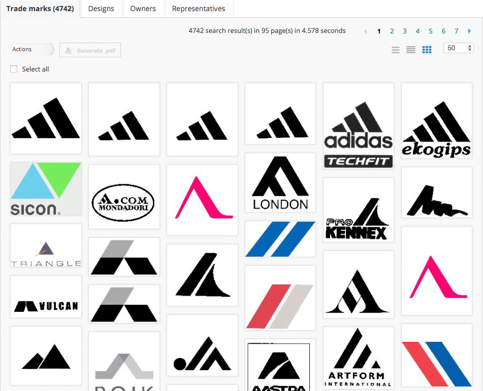 financial logo copyright infringement