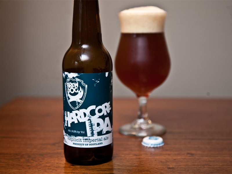 Picture of a Brewdog beer - how does this relate to financial services marketing, you ask?