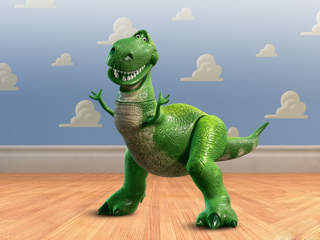 Rex from Toy Story - an illustration of culture and how it relates to financial services branding