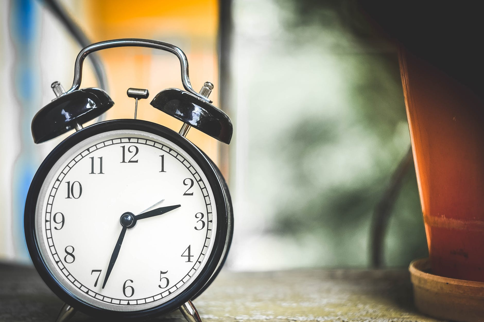 Picture of an alarm clock, illustrating Bowman's Clock in marketing for IFAs